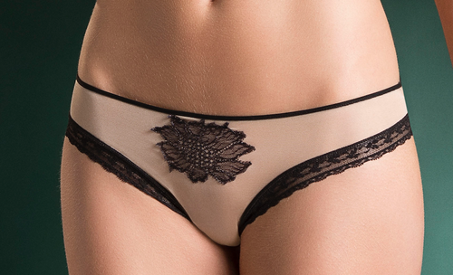 NOSTALGIA COLLECTION IN SHEER TULLE PANTY