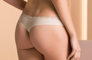 ILLUSION COLLECTION BRAZILIAN PANTY THERMO-FIXED FABRIC