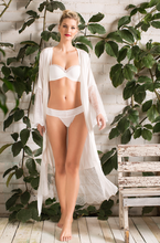 Load image into Gallery viewer, Ellipse Long Lace Kimono