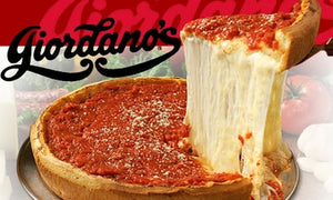 $300 Giordanos eGift  Famous Stuffed Deep Dish Pizza