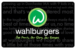 $100 Wahlburgers Egift for $50