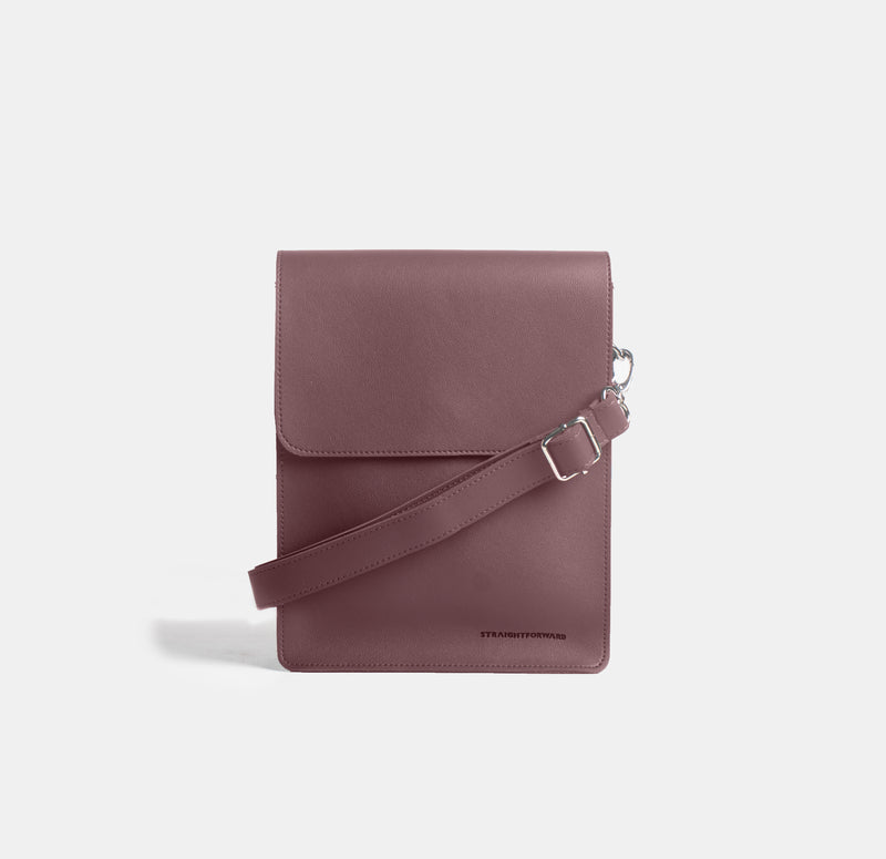 D. V. L. Cross Body Bag (Wine)