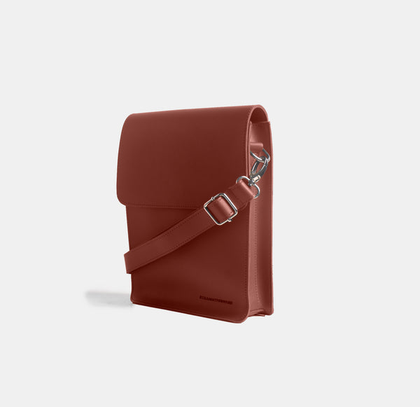 D. V. L. Cross Body Bag (Chestnut)