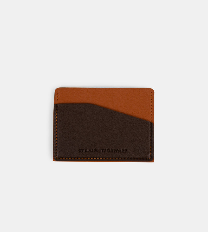 Daily Vegan Leather Card Holder (Tan)