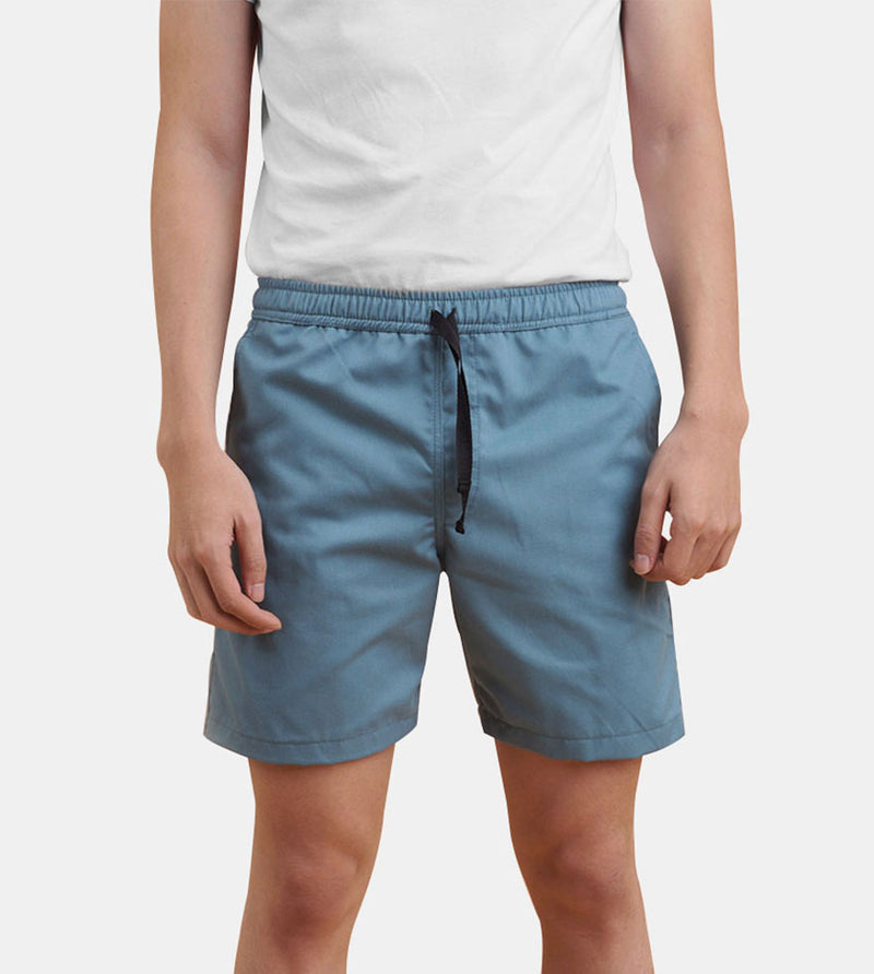 Tailored Shorts (Aqua) - Front