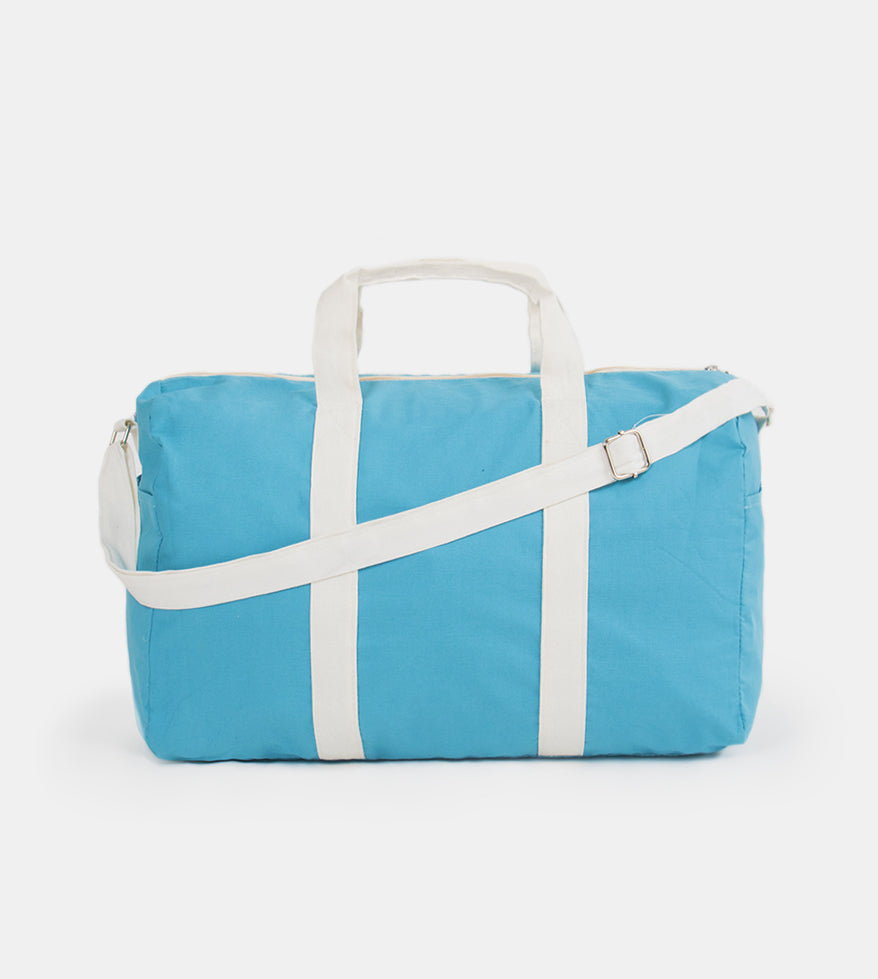 Take Me Everywhere Duffel Bag (Aqua Blue)