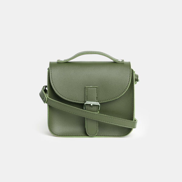 D.V.L. Tiny Satchel Bag (Army Green)