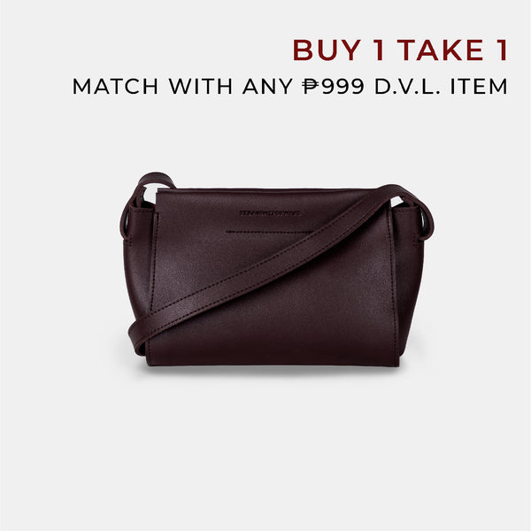 D.V.L. Micro Body Bag (Chestnut)
