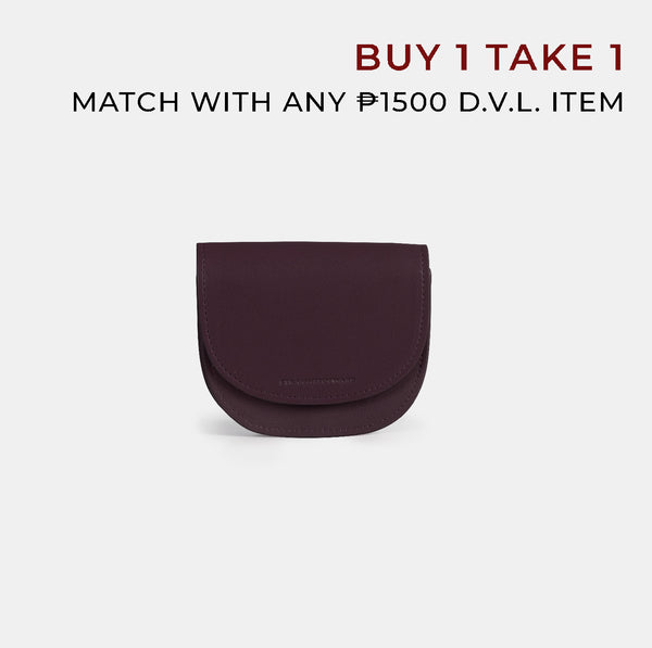 D.V.L. Multiway Purse (Wine)