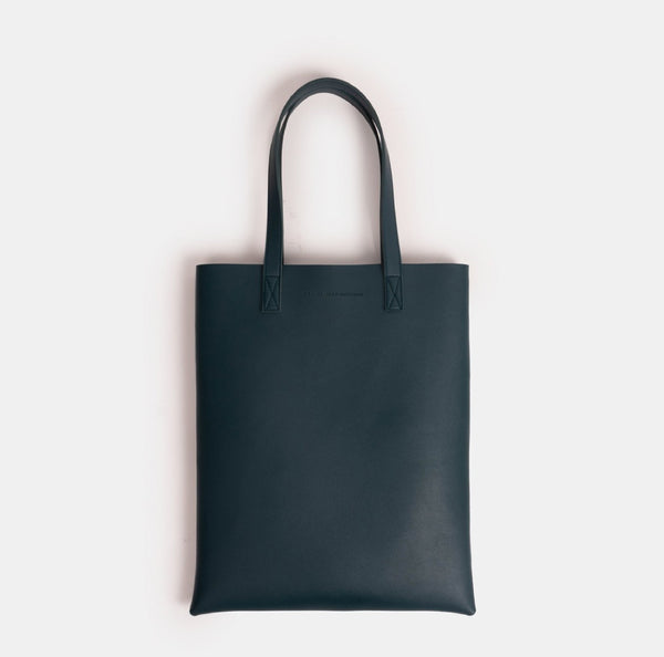 D. V. L. Portrait Tote Bag (Teal)