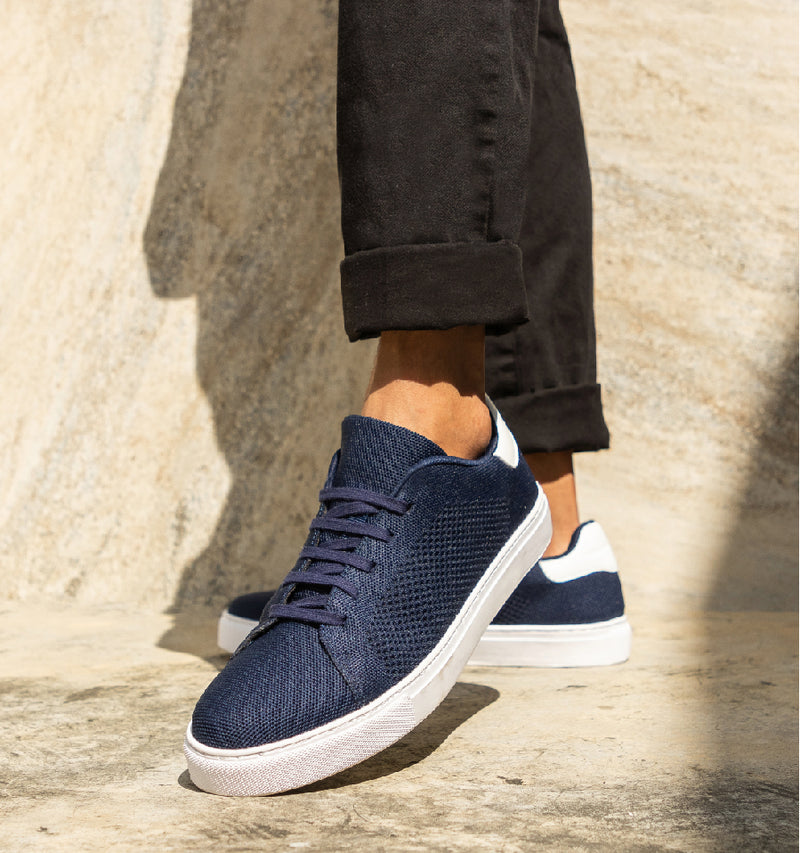 Men's 365Knit Active Sneakers (Navy Blue)