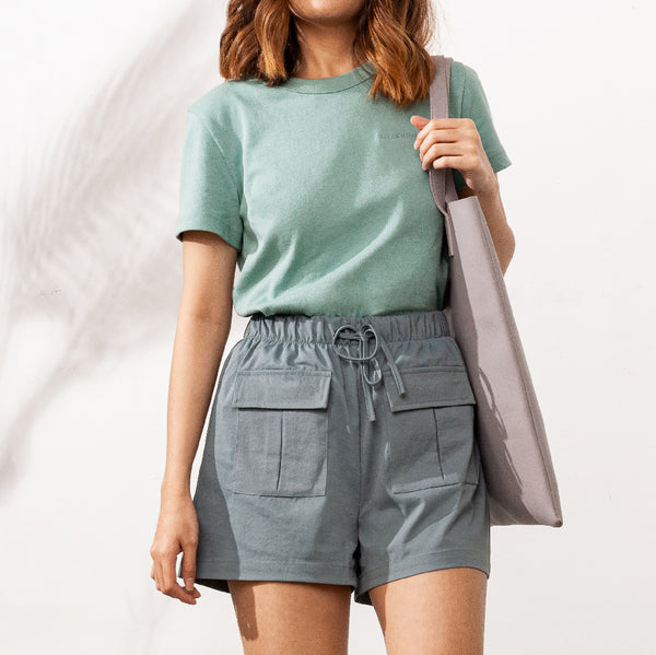 Easywear Pocket Patched Shorts (Vine Green)
