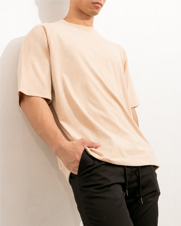 Ultrasoft Elbow Length Tee (Oat)