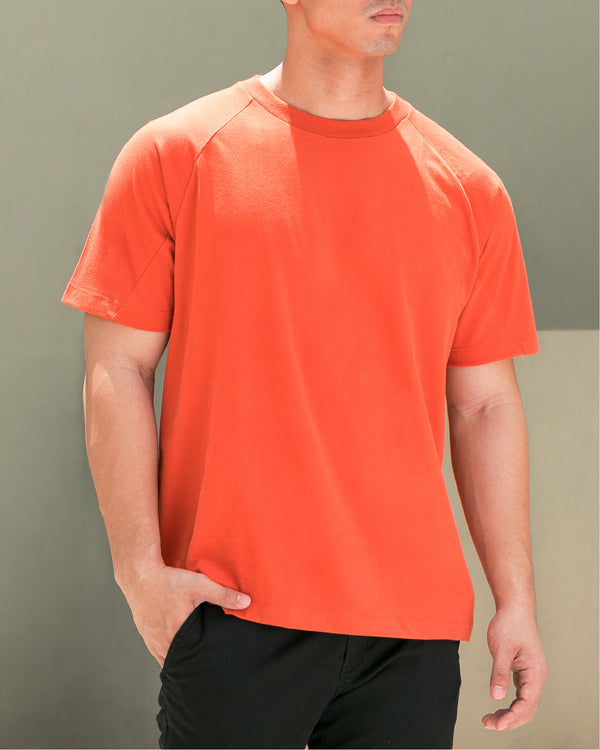 Ultrasoft Seam Detail Raglan (Rust)