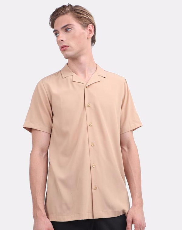 SuperSoft Lounge Shirt (Beige)