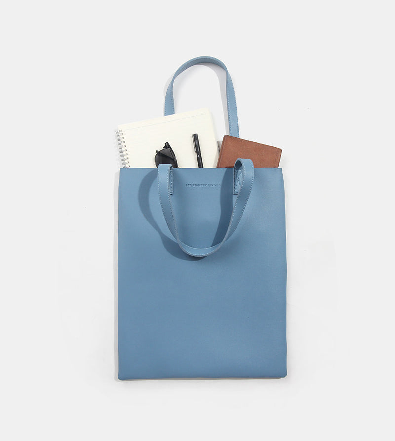 Tote Bag (Light Blue) - Flatlay