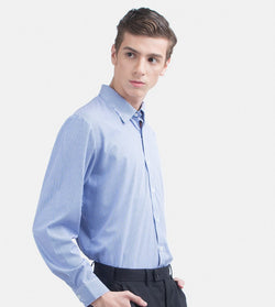 The Investment Long Sleeves Shirt (Blue)