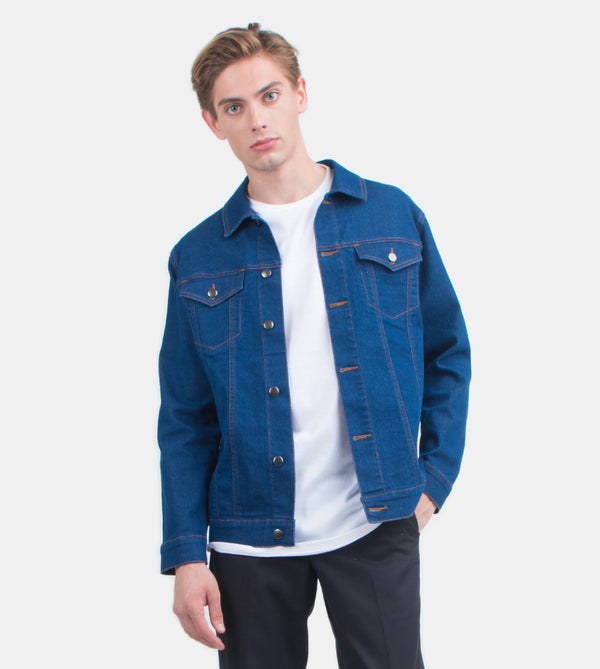 The Problem Solver Denim Jacket (Blue)
