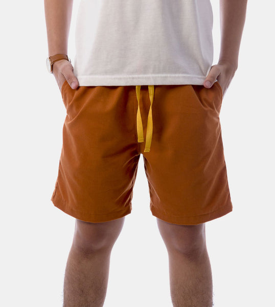 Tailored Shorts (Gold Rust)