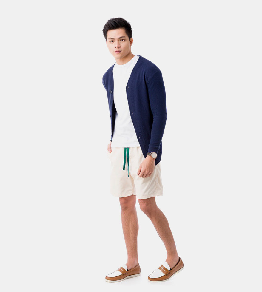 Tailored Shorts (Cream) - Style