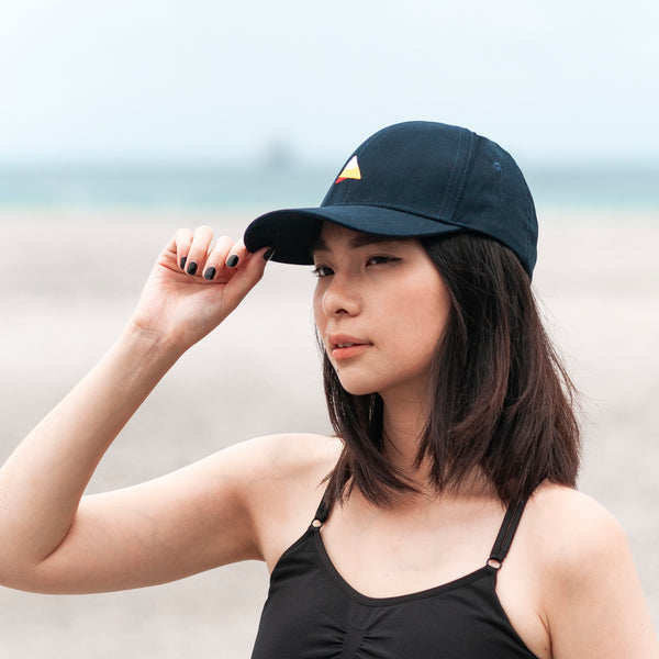 Straightforward Baseball Cap (Navy Blue)
