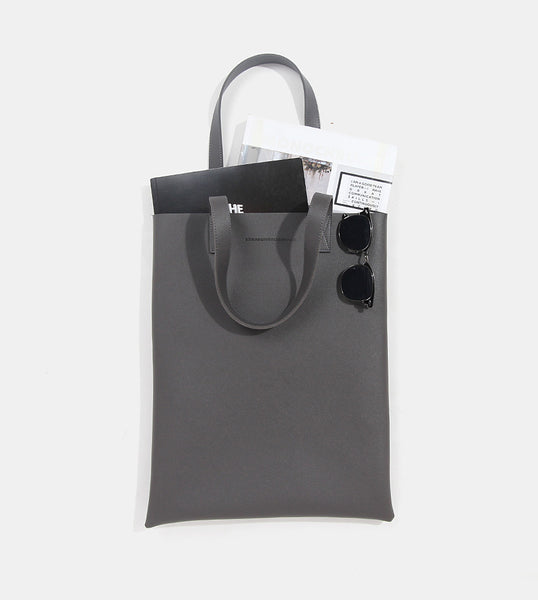Tote Bag (Dark Gray) - Flatlay