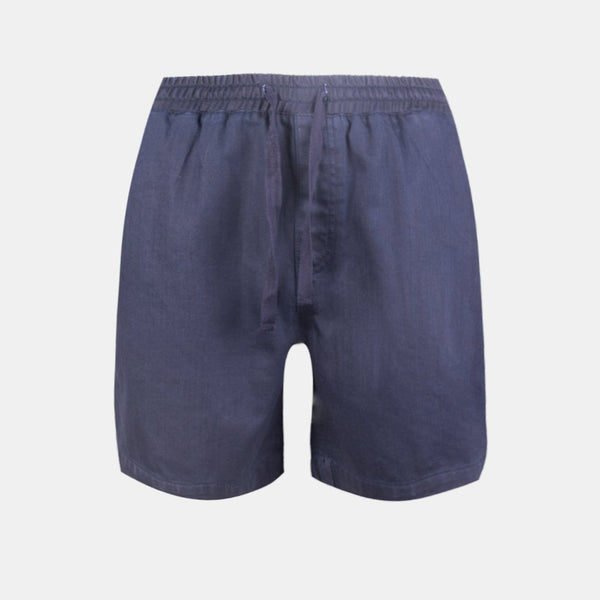 Dynamic Denim Shorts (Dark Blue)