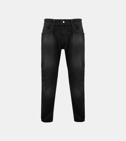 Men's Dynamic Denim Slim Fit Jeans (Black)