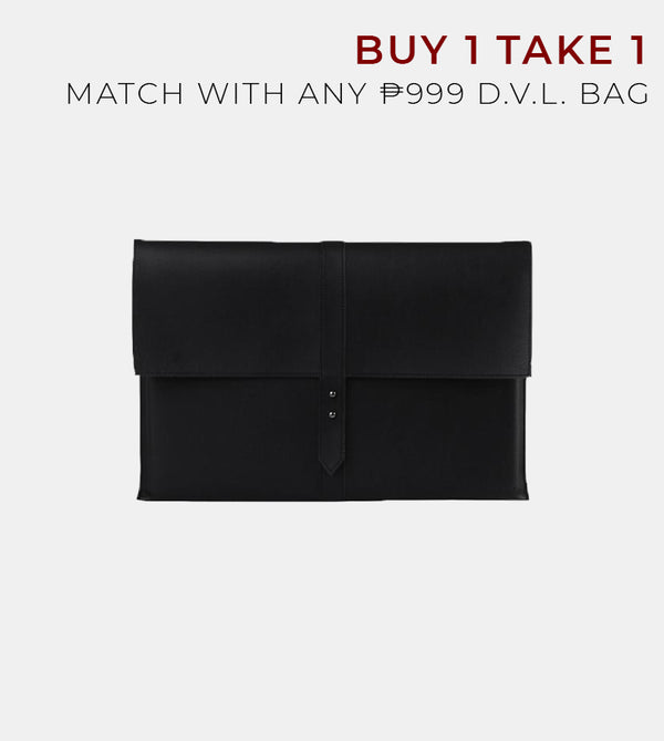 D. V. L. Elegant Laptop Case (Black)