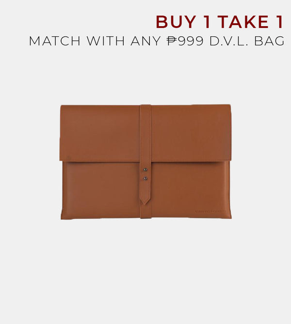 D. V. L. Elegant Laptop Case (Tan)