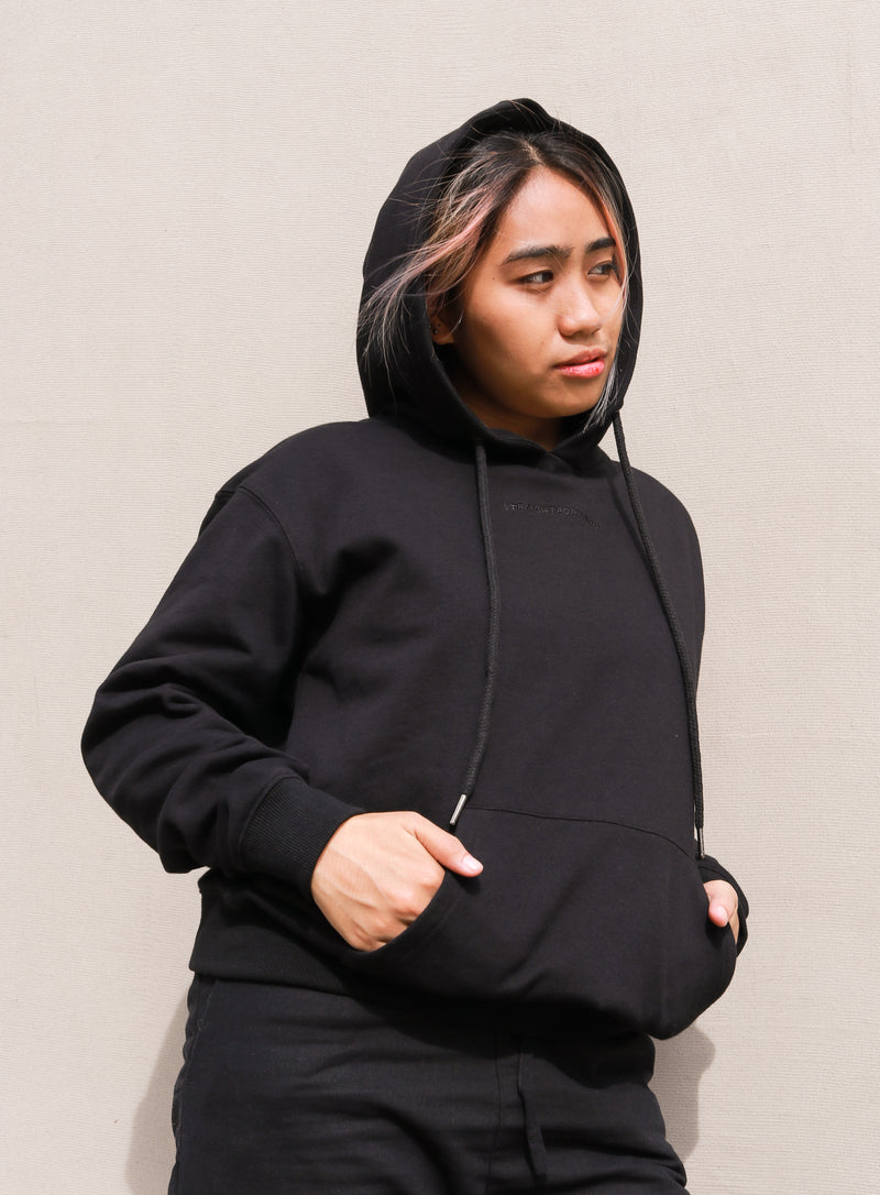 Everyday Fleece Hoodie (Black)