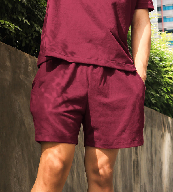 Men's UltraSoft Lounge Shorts (Wine)
