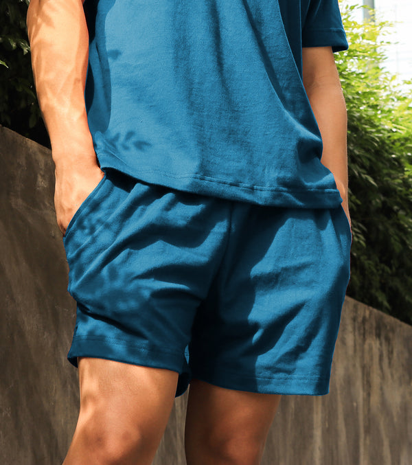 Men's UltraSoft Lounge Shorts (Teal)