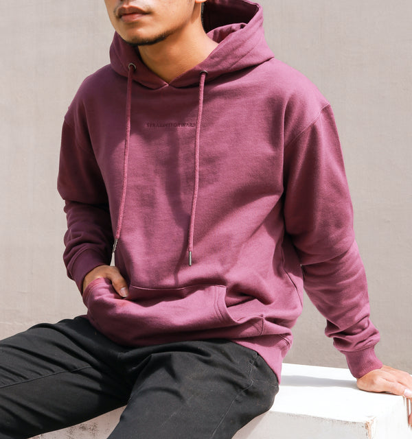 Everyday Fleece Hoodie (Wine)