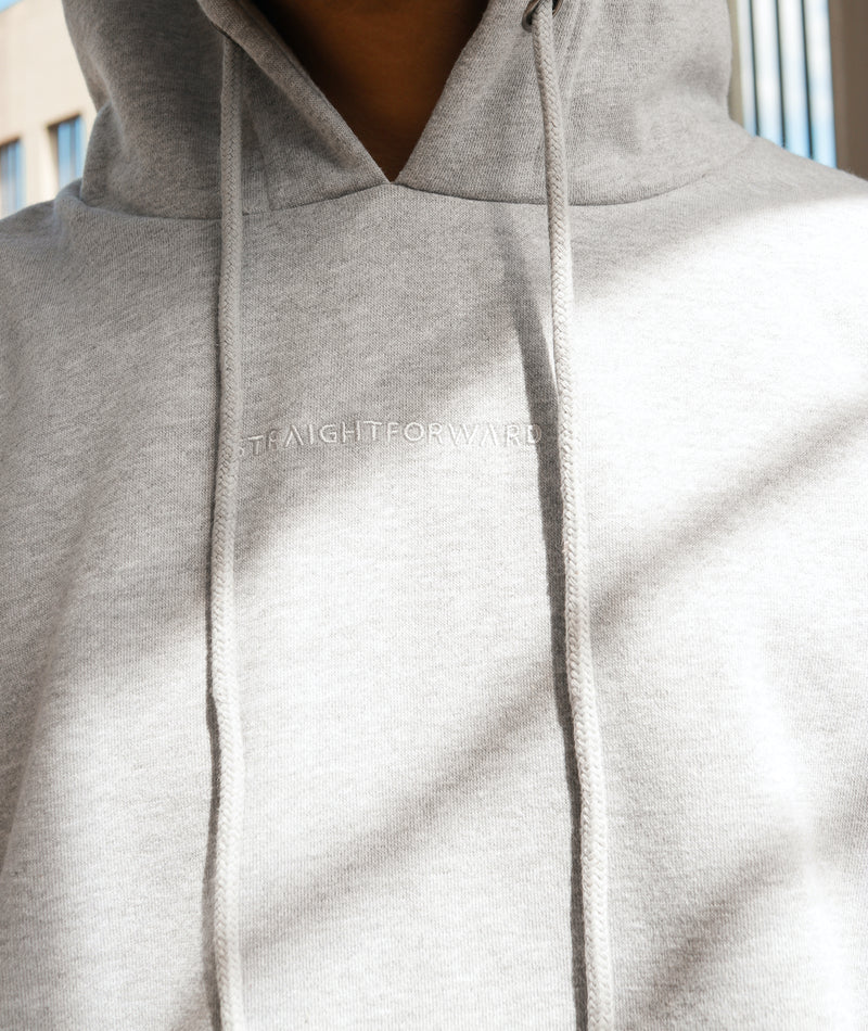Everyday Fleece Hoodie (Heather Gray)