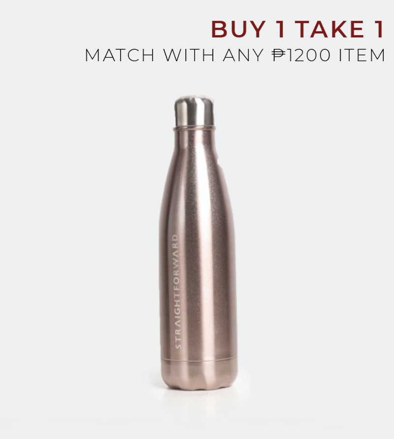 Essential Metallic Flask (Rose Gold)