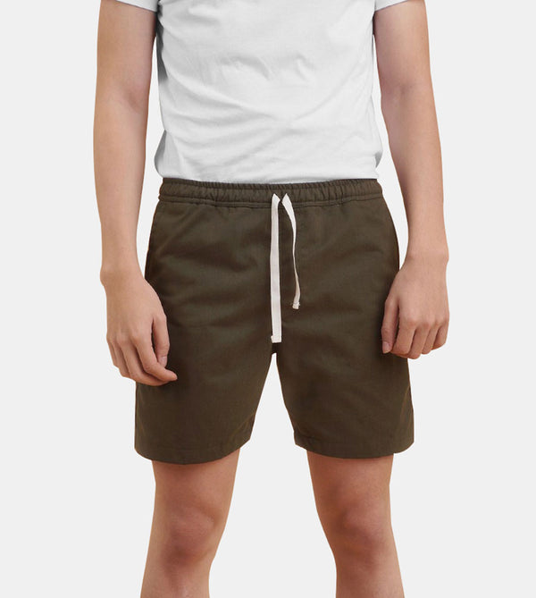 Tailored Shorts (Pesto)