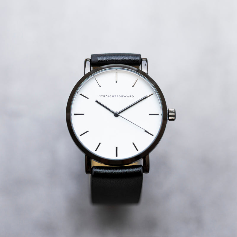 The Everyday Watch (Black and White)