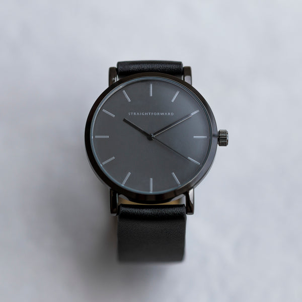The Everyday Watch (Black and Black)