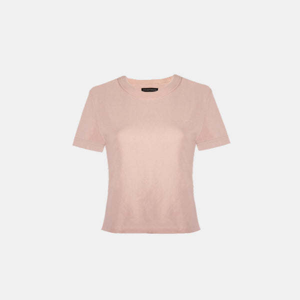 Women's Heavyweight Basic Tee (Blush)