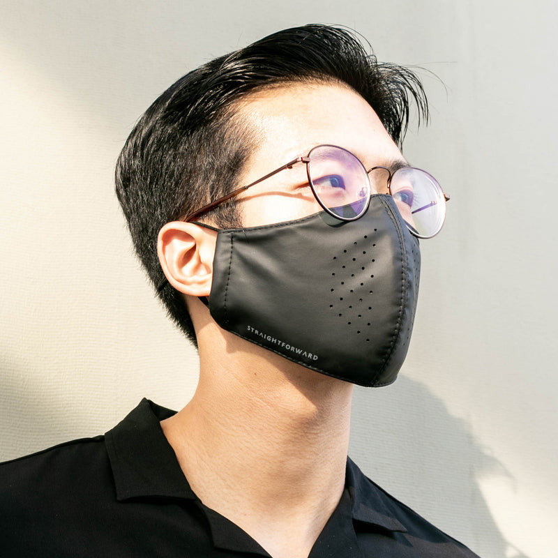 OmniResist VentTech Face Mask (Black)