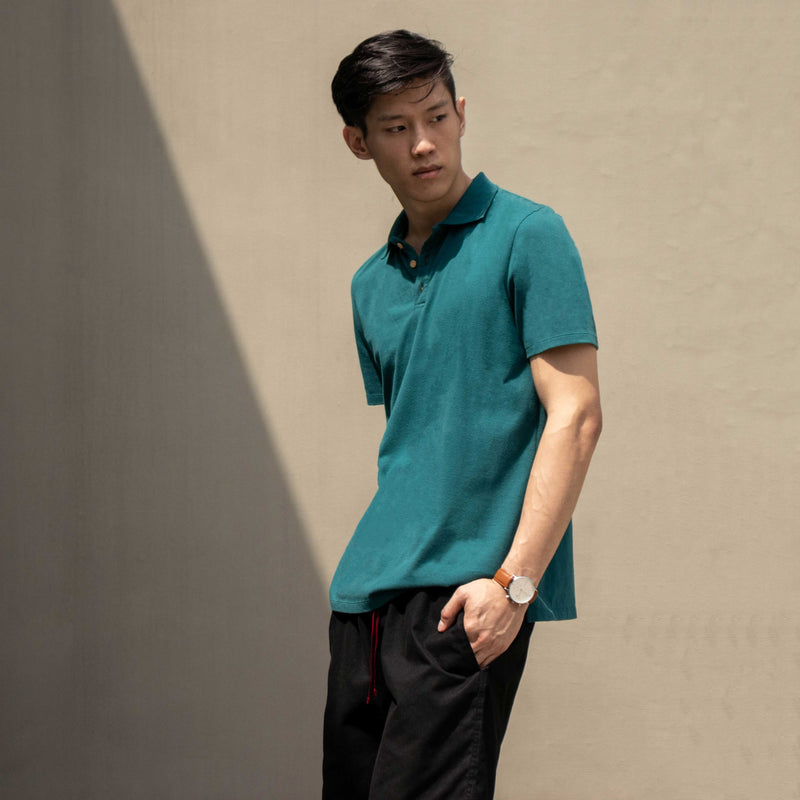 UltraSoft Everyday Polo Shirt (Deep Sea Green)