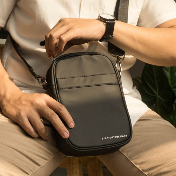 Omni Resist Crossbody Bag (Black)