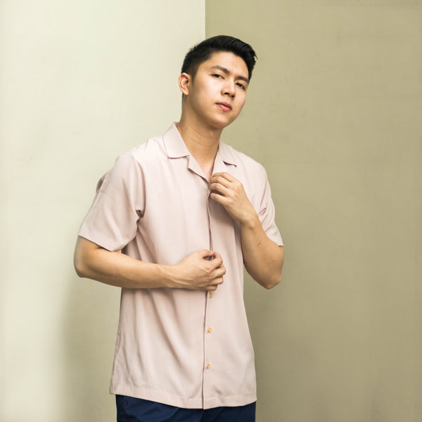 SuperSoft Lounge Shirt (Blush)
