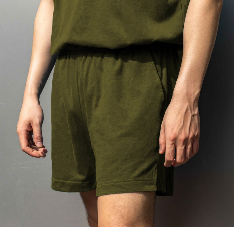 Men's UltraSoft Lounge Shorts (Army Green)
