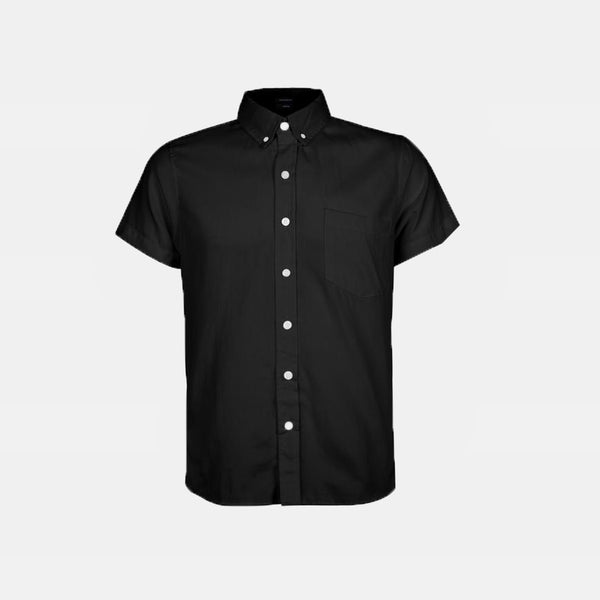 Japanese Chambray Work & Play Shirt (Black)