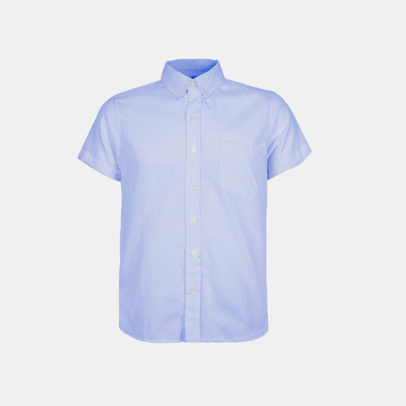 Japanese Chambray Work & Play Shirt (Light Blue)