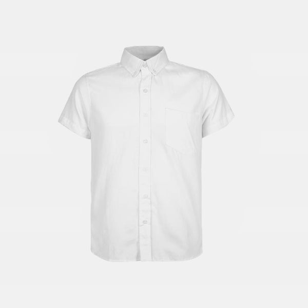 Japanese Chambray Work & Play Shirt (French White)