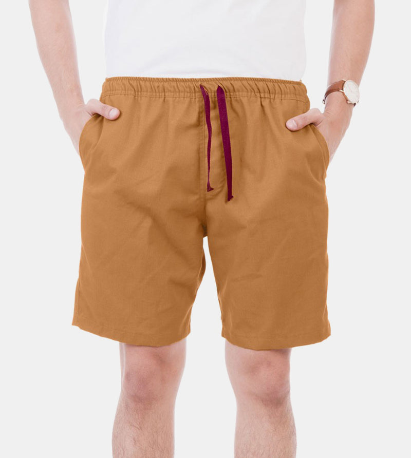 Tailored Shorts (Mustard Khaki)