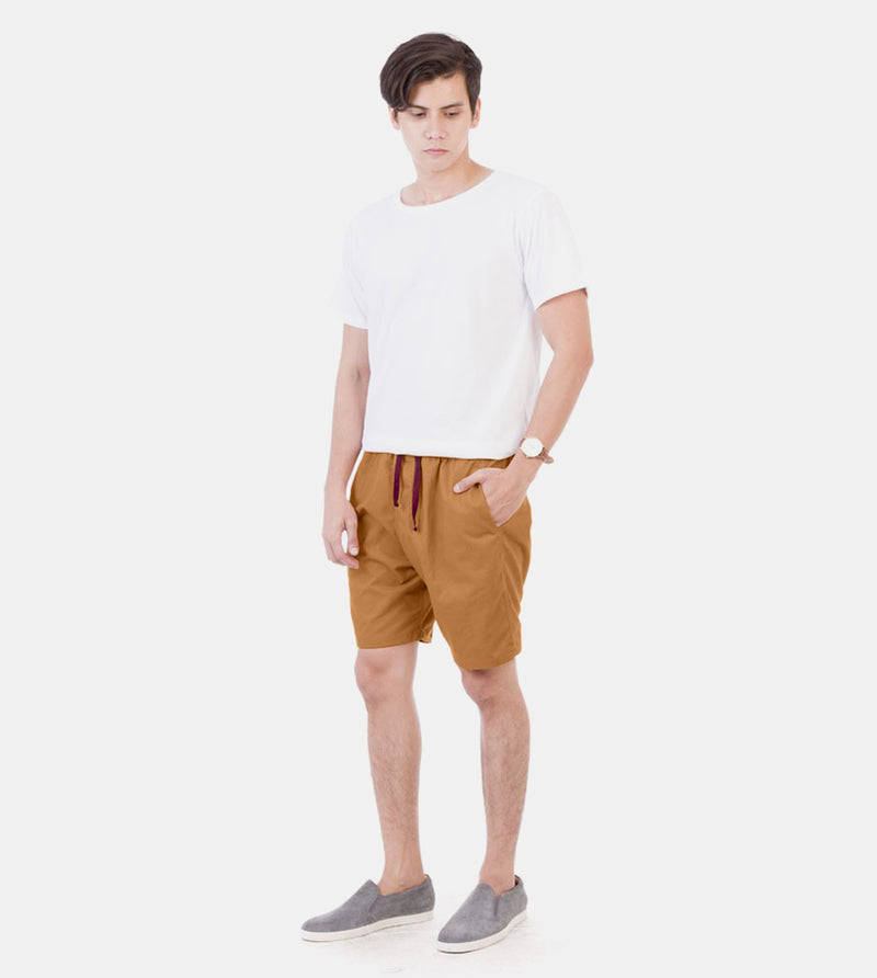 Tailored Shorts (Khaki) - Style
